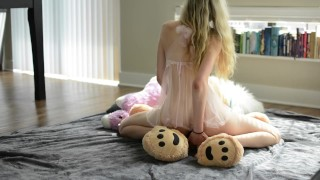 fucking my teddy bear