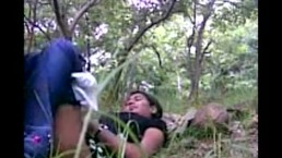 Village boy village girl student fuck in outdoor