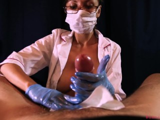 This milf nurse will make you cum if you pay