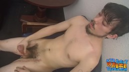 Horny straight buds having a dick wanking session