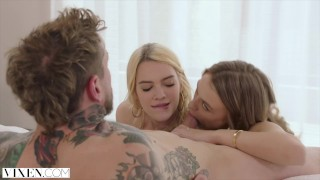 Boyfriend gets kenna vixen james dominated her by natalia starr and cock style
