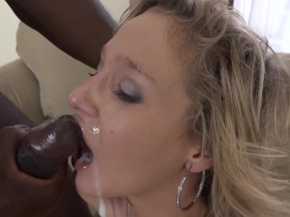 Mature by black man and facial...