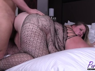 sexy SSBBW romances her lover