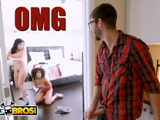 BANGBROS – Aaliyah Hadid's Hot Threesome With Dad's New GF, Misty Stone