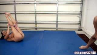 Sex fight wrestling