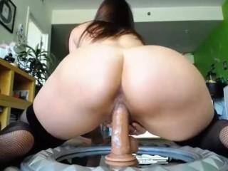 Melodykush Dildo Riding Cum