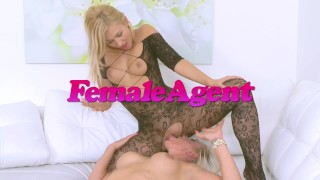 Fake Agent Hot latina gets her pussy stretched and fucked on casting couch