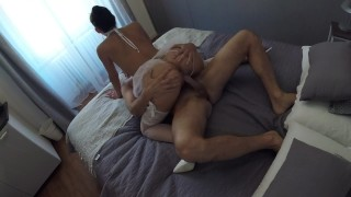 Sex gf hot back is ex real girlfriend real