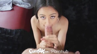 CUM4K Latina pussy drenched in oozing cum - multiple creampies  eliza ibarra riding hd blowjob small tits big dick hardcore 4k 60fps petite latina sex cum4k latin doggystyle bent over