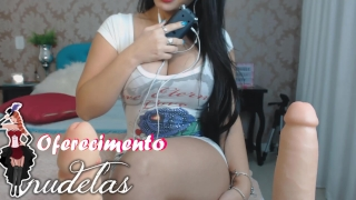 JOI JERK OFF INSTRUCTION ENGLISH AND PORTUGUESE Talking PUNHETA controlada  sexy angel stripper cum fake big ass mandando na punheta emanuelly raquel punheta controlada roleplay asmr kink joi latina big boobs fetiche adult toys comandando a punheta joi jerk it for me