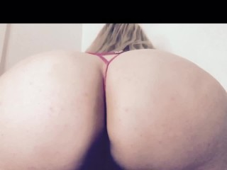 All Booty Play In Pink G String
