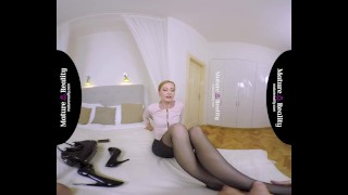 MatureReality - Hotel room Fuck with Skinny Mature