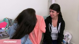 Hot Girlfriends Hook Up With Intern At Work
