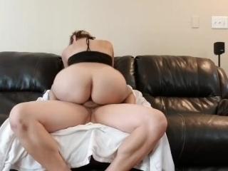 Big titty pawg dick riding
