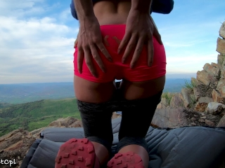 Preview 1 of Tinder date idea: Fuck her asshole on a mountain top