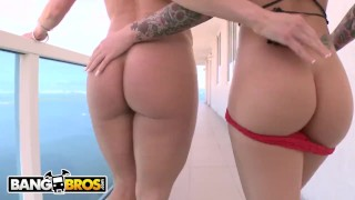 BANGBROS - Nikki Delano, Christy Mack and Kendra Lust On Ass Parade!