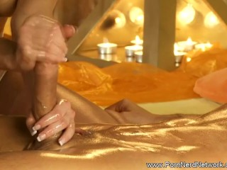 Sensual Touch For His Dick