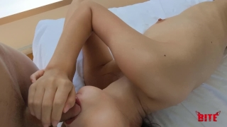 Perfect Skinny Teen Gets Her Tight Pussy Rubbed and Fucked Part I porno