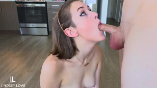 Step Daughter Eagerly Services  Dad's Cock - DDLG Fantasies by LindseyLove Sucking doggy