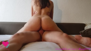 Hot student wants his cum inside her - CG96