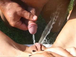 Pussy and cock...