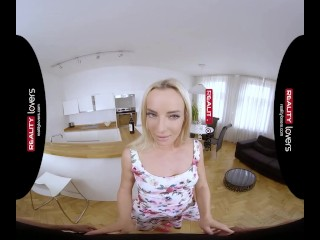 Preview 2 of RealityLovers - Yummy blonde Teen Victoria