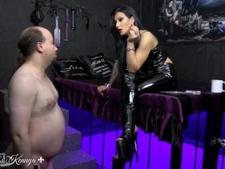 Mistress Kennya: A flabby wanker to humiliate trailer