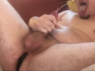 Spanish Camgirl Controls my Hush! Fuck Fleshlight, Tongue Out Self Facial!!