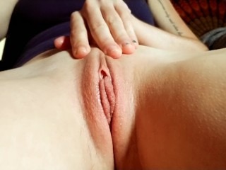 Upclose wet pussy