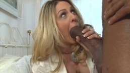 Milf Destroyed by Fucking Huge Black Cock in Interracial Sex