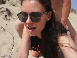 good nasty outdoor sex at the beach