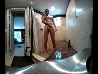 VR Sexy Vacation Shower