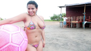 CULIONEROS - Latina Sofia Shows Off Her Big Tits On Tetonas Locas!