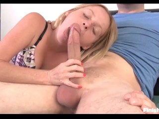 Teen Babe Takes The Start When She Needs His Big Rod