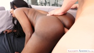 In white cock takes ass milf ebony pussy big black black