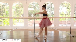 Ballerina Gets Her Tight Hole Penetrated By Her Instructor