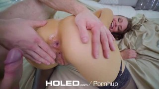 HOLED DEEP long stroke round booty anal pounding