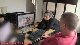 With aunt sex step hot watching tits mother