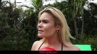 Karups - MILF Blaten Lee Fucks Her Horny Neighbor
