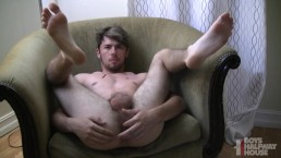 Daddy Cracks Open Fresh Boy Hole And Fills It With His Load