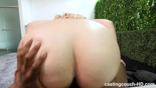 BBW With Fat Ass And Perfect Big Naturals Gets Freaky During Audition Casting ass