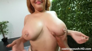 During fat and naturals ass gets freaky bbw audition with perfect big rimjob old