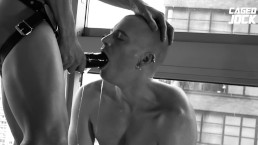 MOST INTENSE CHASTITY FUCK FEATURING CAGEDJOCK AND AXEL ABYSSE
