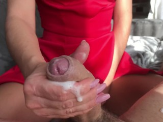 Nikita mirzani - My wife make me good - handjob after work amateur couple