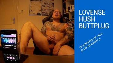 Lovense hush 10 minutes of hell