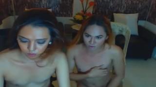 Hard masturbate cock and hot ladyboy slurps shecams masturbate