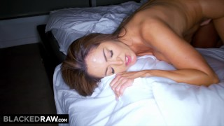 Sending bbc pics her fucking blackedraw and addams to husband is ava riding wank