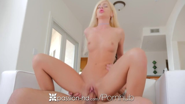 PASSION-HD Enthusiastic blonde skinny dip FUCKERY 1