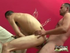 Hairy Gents Ass Fucking Creampie