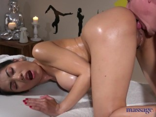Nikita Mirzani - Massage Rooms Tiny Thai beauty Poopea oiled up fucked and squirting